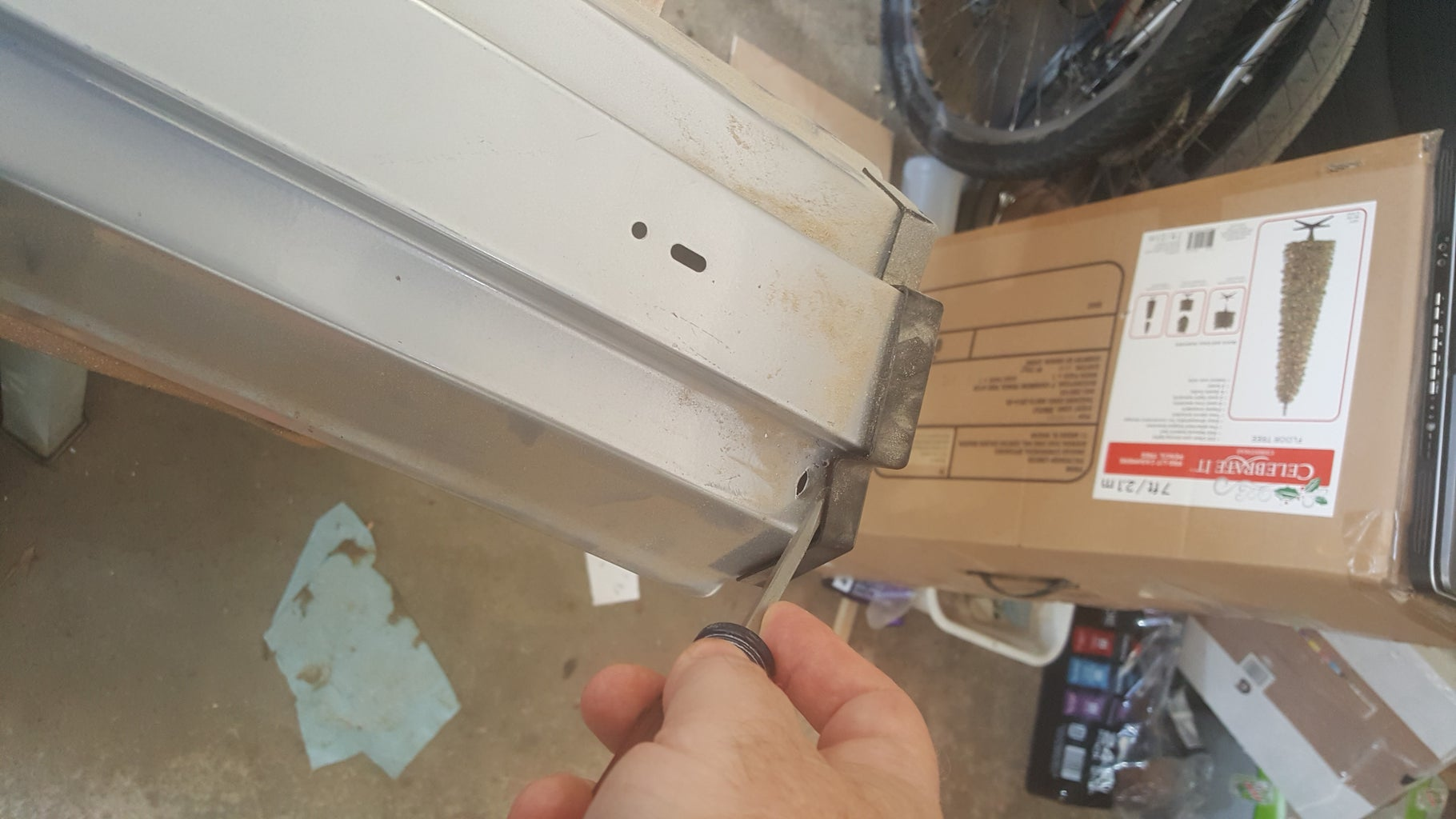 Take Apart the Old Fixture