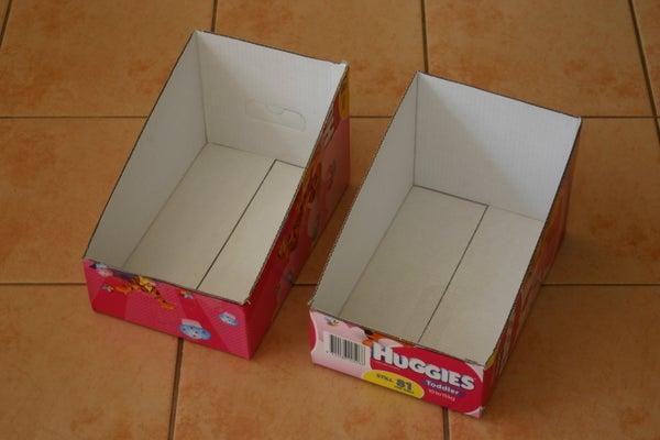 Sloped Sided Organizer Box