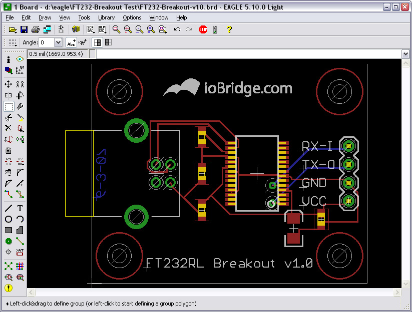 Adding Custom Graphics to EAGLE PCB Layouts