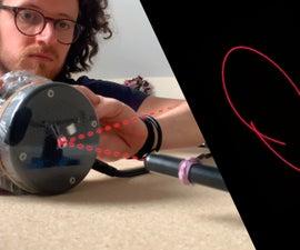 Laser Pen Sound Visualiser