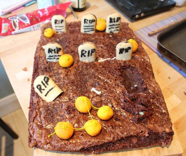 Chocolate Brownie Graveyard