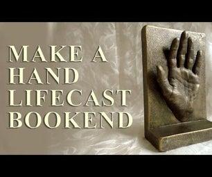 Make a Hand Lifecast Bookend