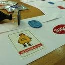 make personolized envelope seals with sugru