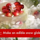 DIY VIDEO: How to Make an Edible Snow Globe