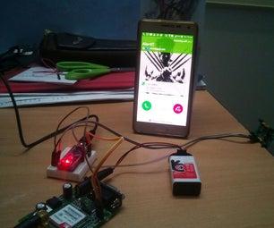 Intruder Detection Calling System