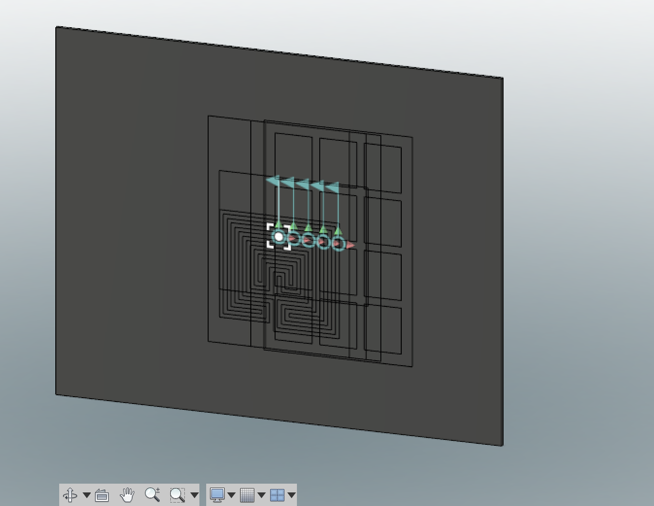 Laying Out Components on the Stock (scripting Solution)