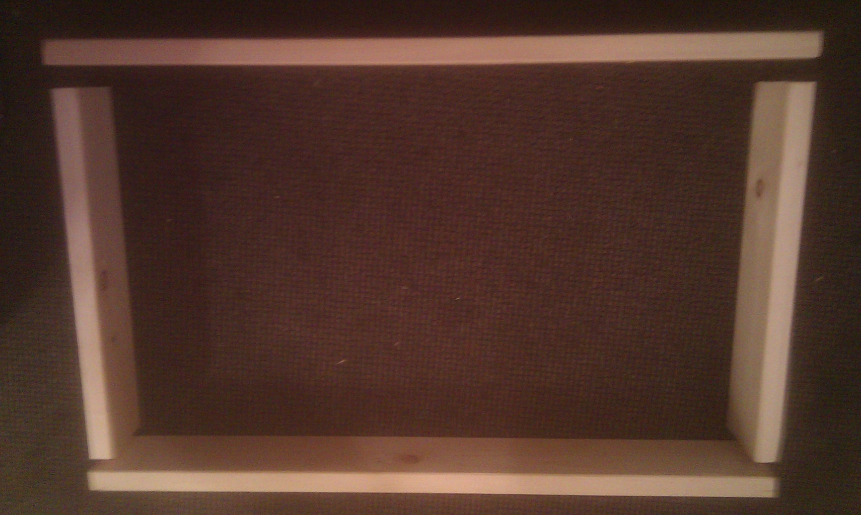 Assemble Frame (A & B)