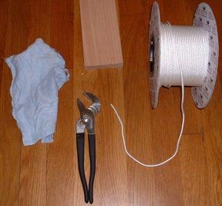 B) Pedal Control: Materials and Tools