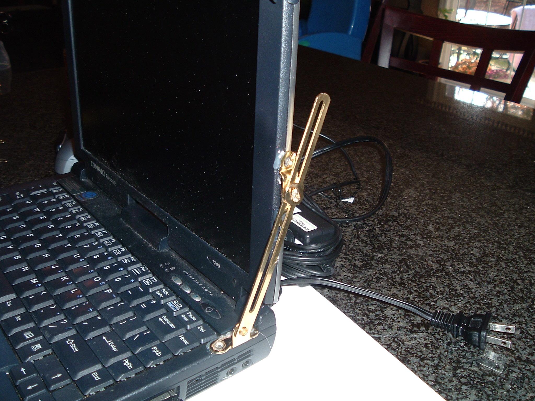 Laptop Hinge Hack