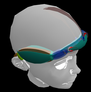 Head Set 3D Model and Stl Files