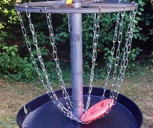Simple Budget Disc Golf Basket