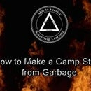 How to Make a Camp Stove from Garbage