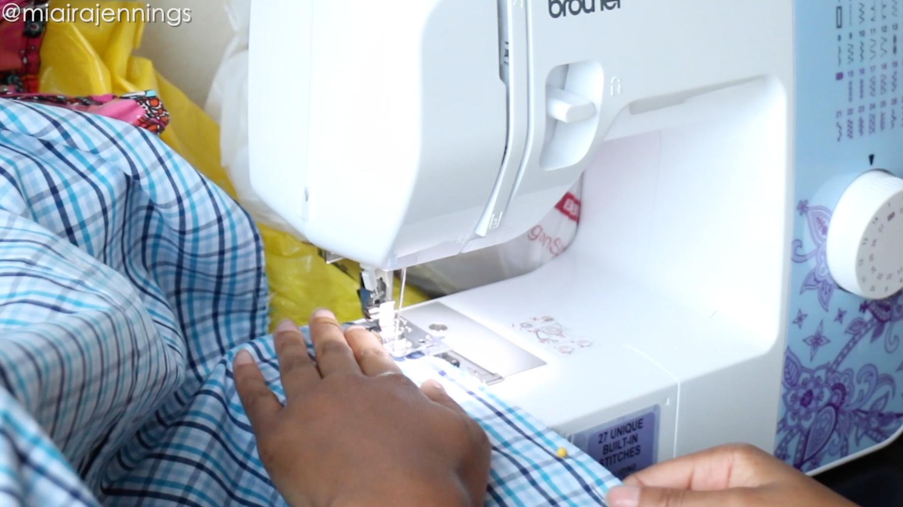 Sew Dress Sides