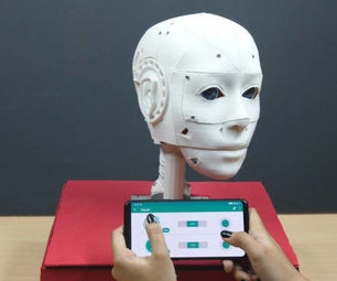 Make 3D Printed Humanoid Robot and Control It With Smartphone Using Evive- Arduino Based Embedded Platform