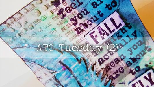 Mixed Media ATC Tutorial 2
