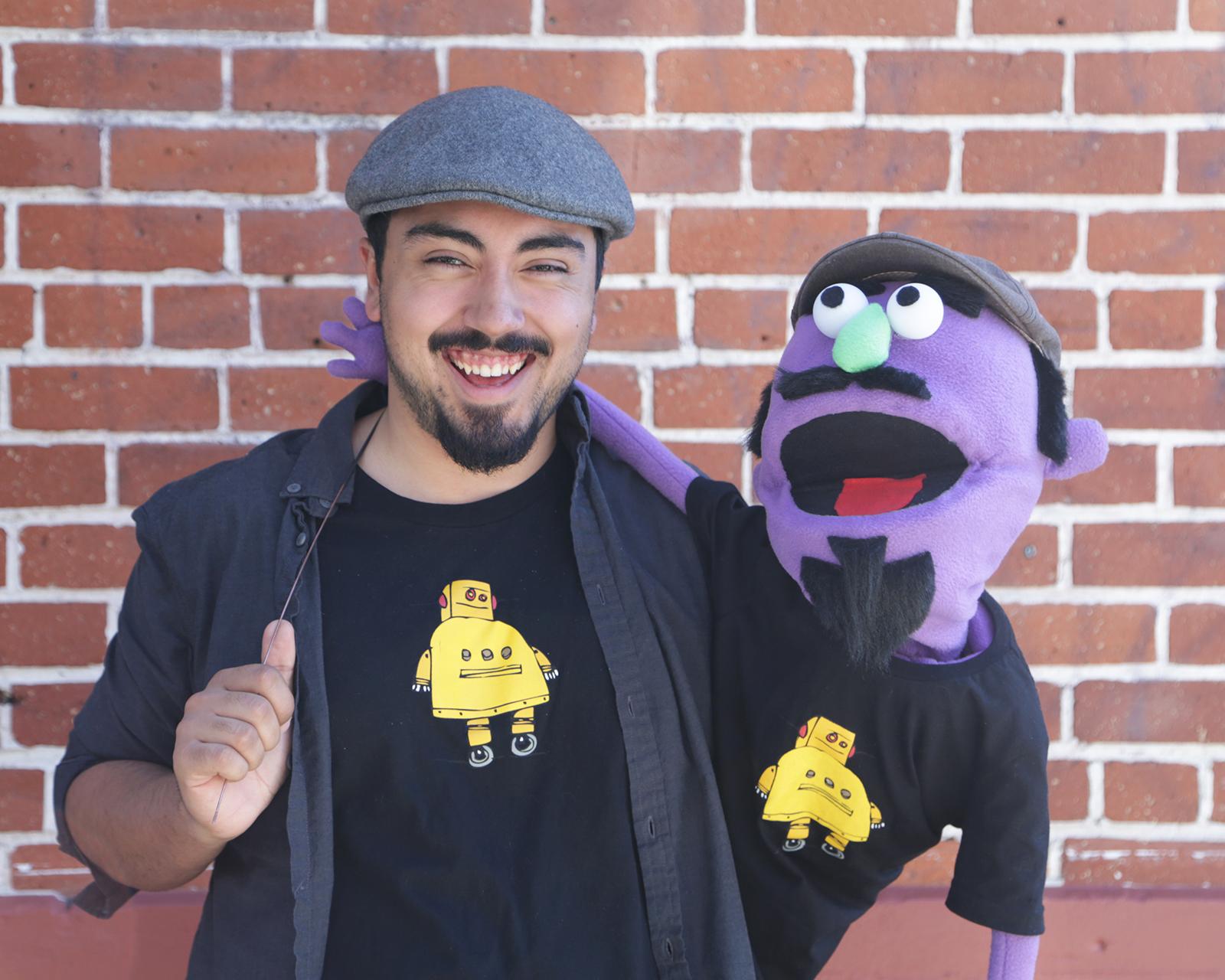 DIY Muppet Puppet