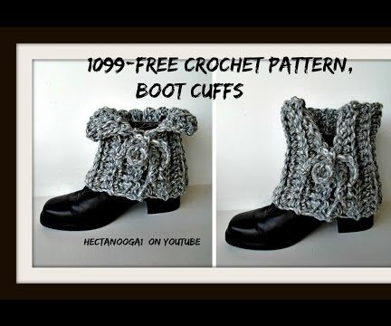 EASY LACED BOOT CUFFS, CROCHET