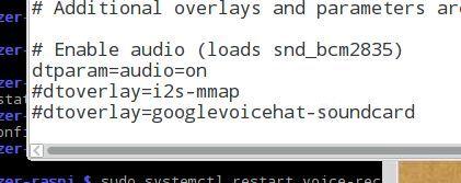 Audio Configuration (Part 1)