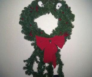 NIghtmare Before Christmas Wreath