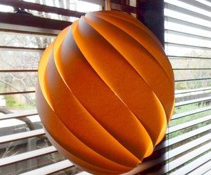 Swirl Pendant Lamp