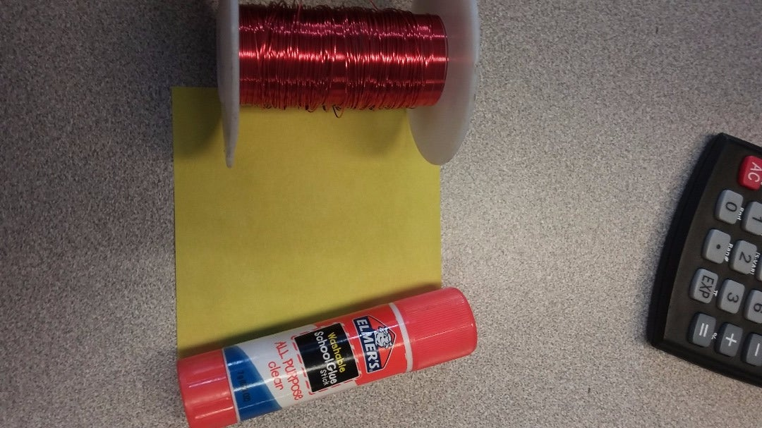 Wrapping the Glue Stick