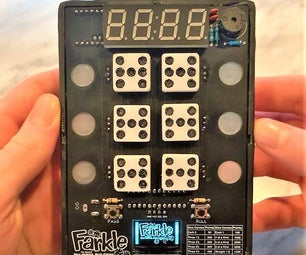 Farkle! Handheld PCB Game Console