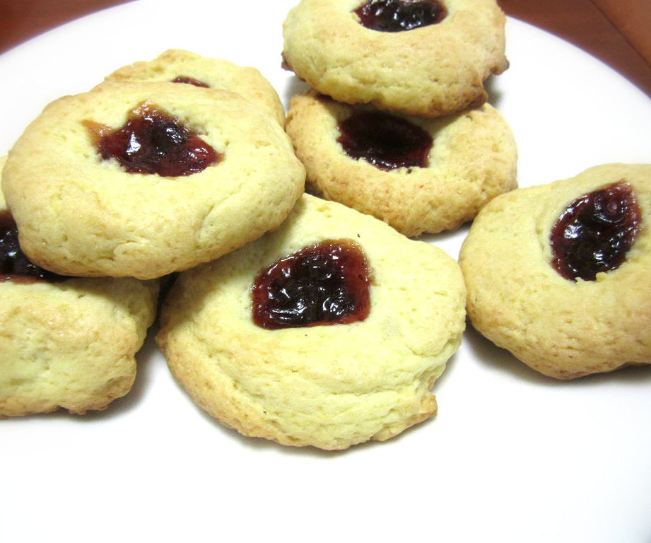 Homemade Jam Drops