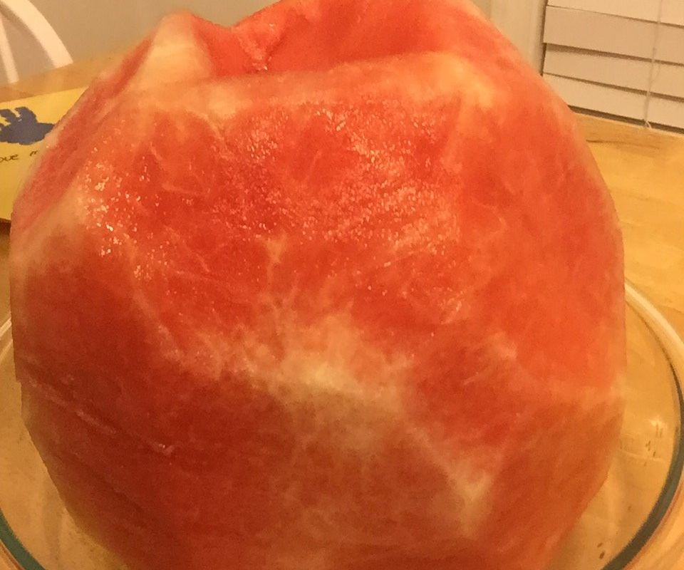Perfectly Peeled melon