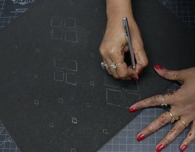 Cutout the Drawn Patterns