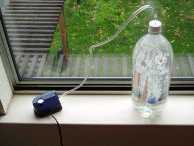 Scrubbing CO2 in the Window