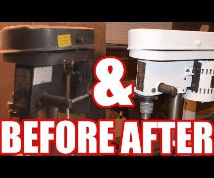 Drill Press Restoration