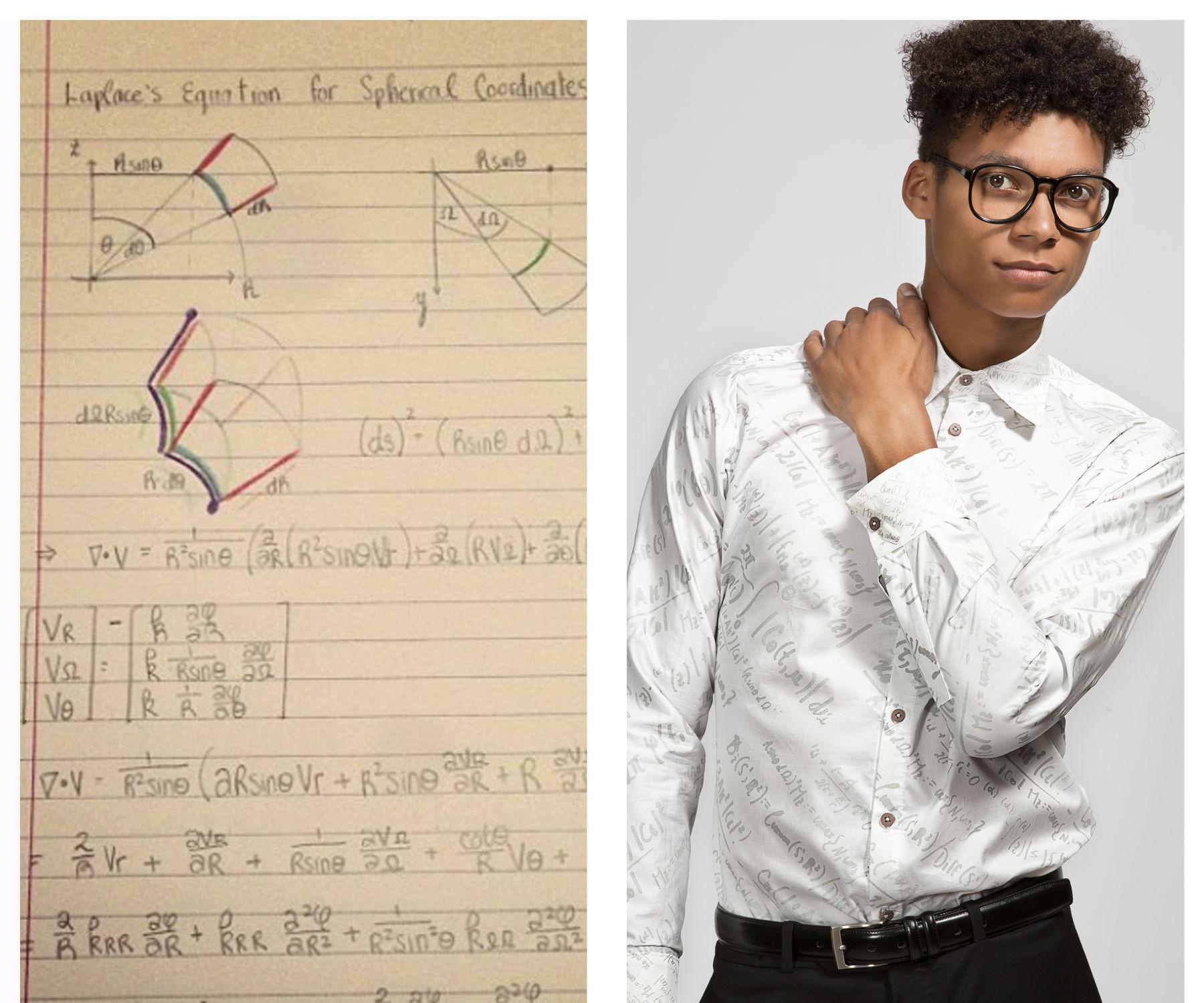 From Homework to Dress Shirt:Making Geek-Chic Fashion