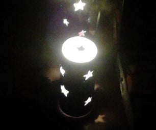 Candle Lamp DIY!