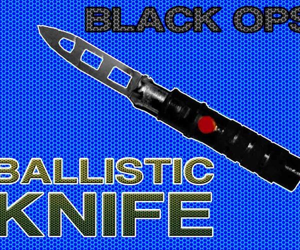 "BLACK OPS ""BALLISTIC KNIFE"" PROP"