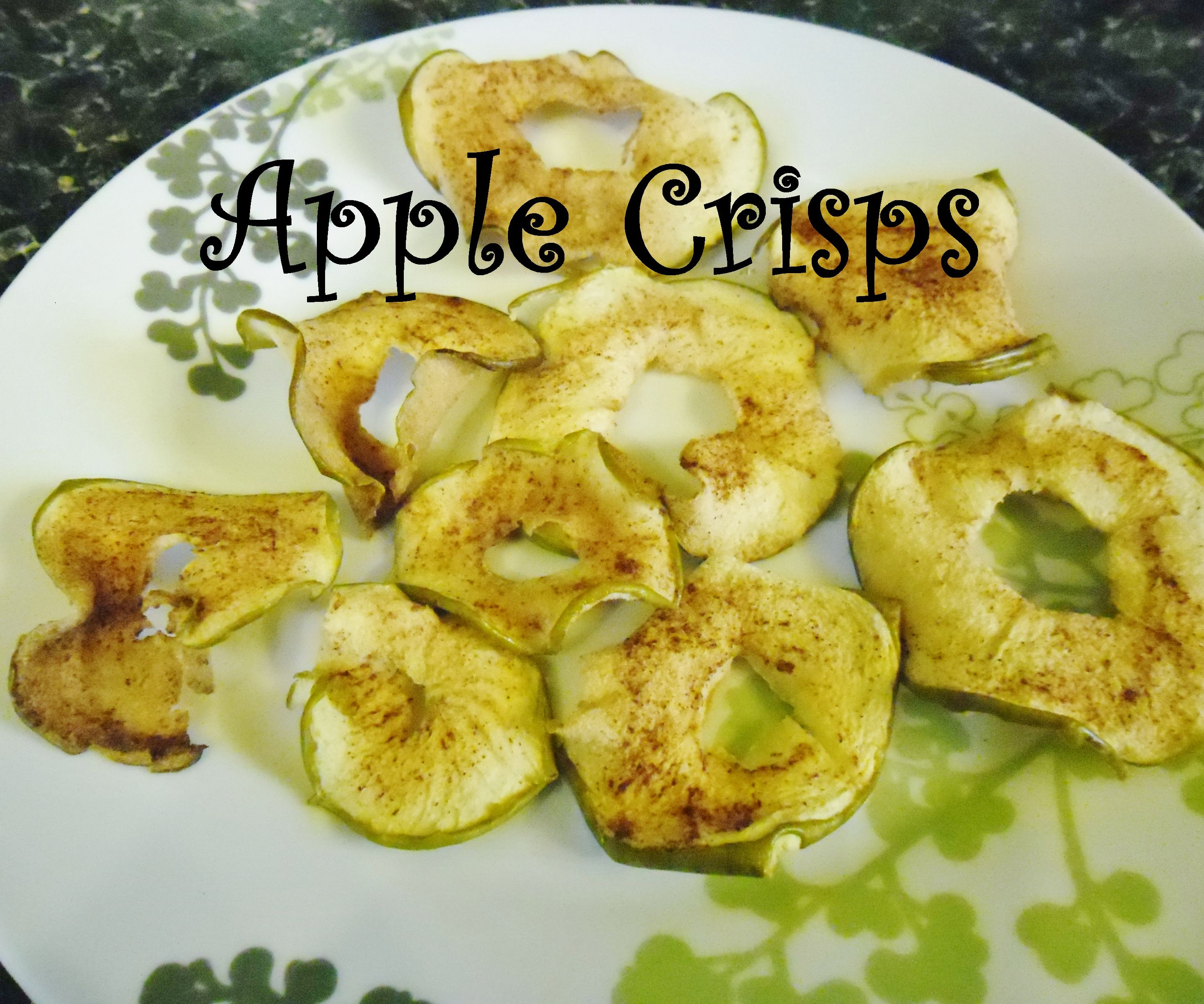 Apple and Cinnamon Crisps