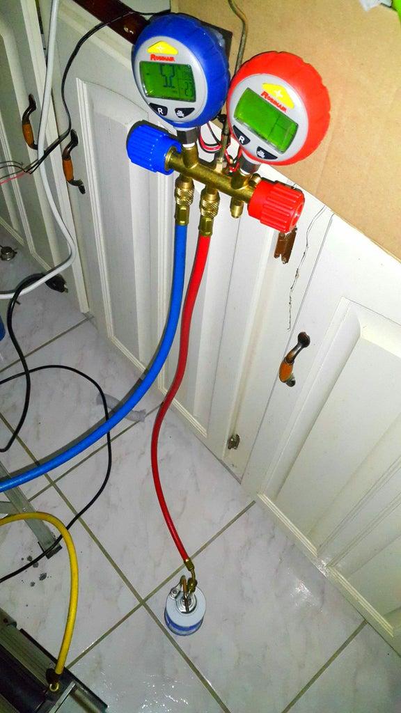 Adding R134a Refrigerant.