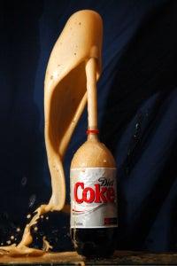 Diet Coke and Mentos Volcano