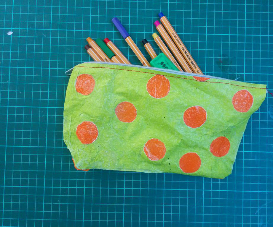 100% recycled pencil case/bits and bobs bag