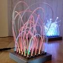DIY Fiber Optic Light Sculpture