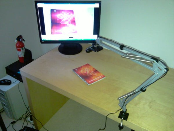 Low Cost Document Camera (visualiser)