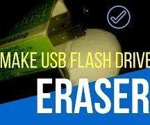 How to Make USB Flash Drive Using an Eraser | DIY USB Drive Case