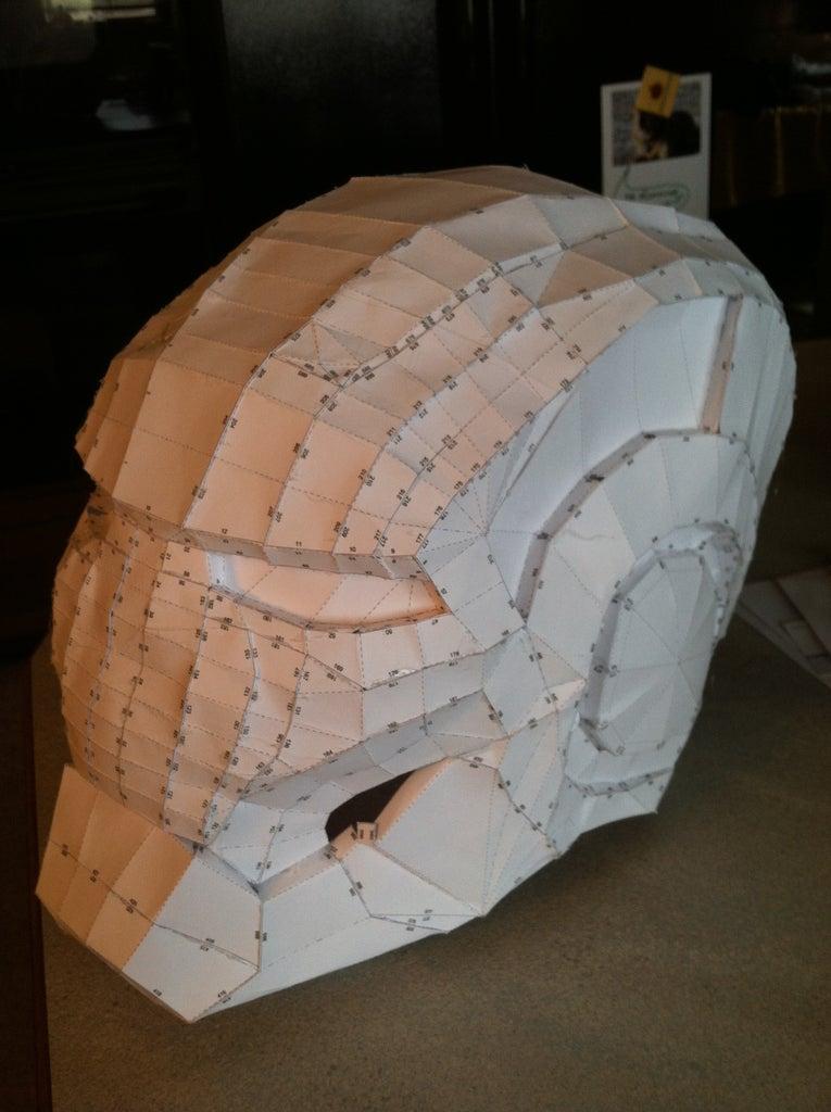 Pepakura (Paper Craft) and Gluing