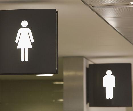 MicroPython Program: Is the Toilet Occupied?