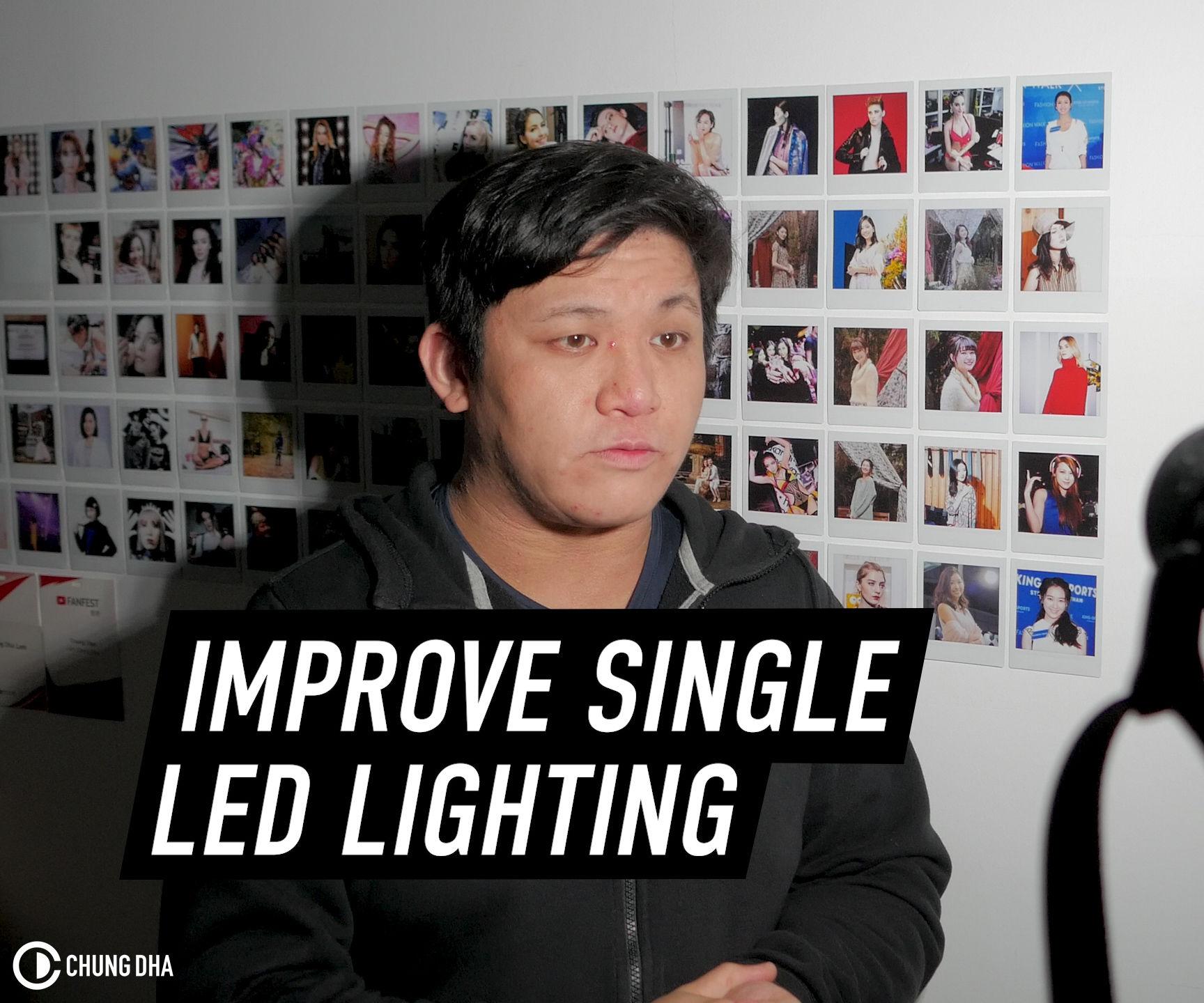 Cheap Ways to Improve Singe LED Light for Vlogs