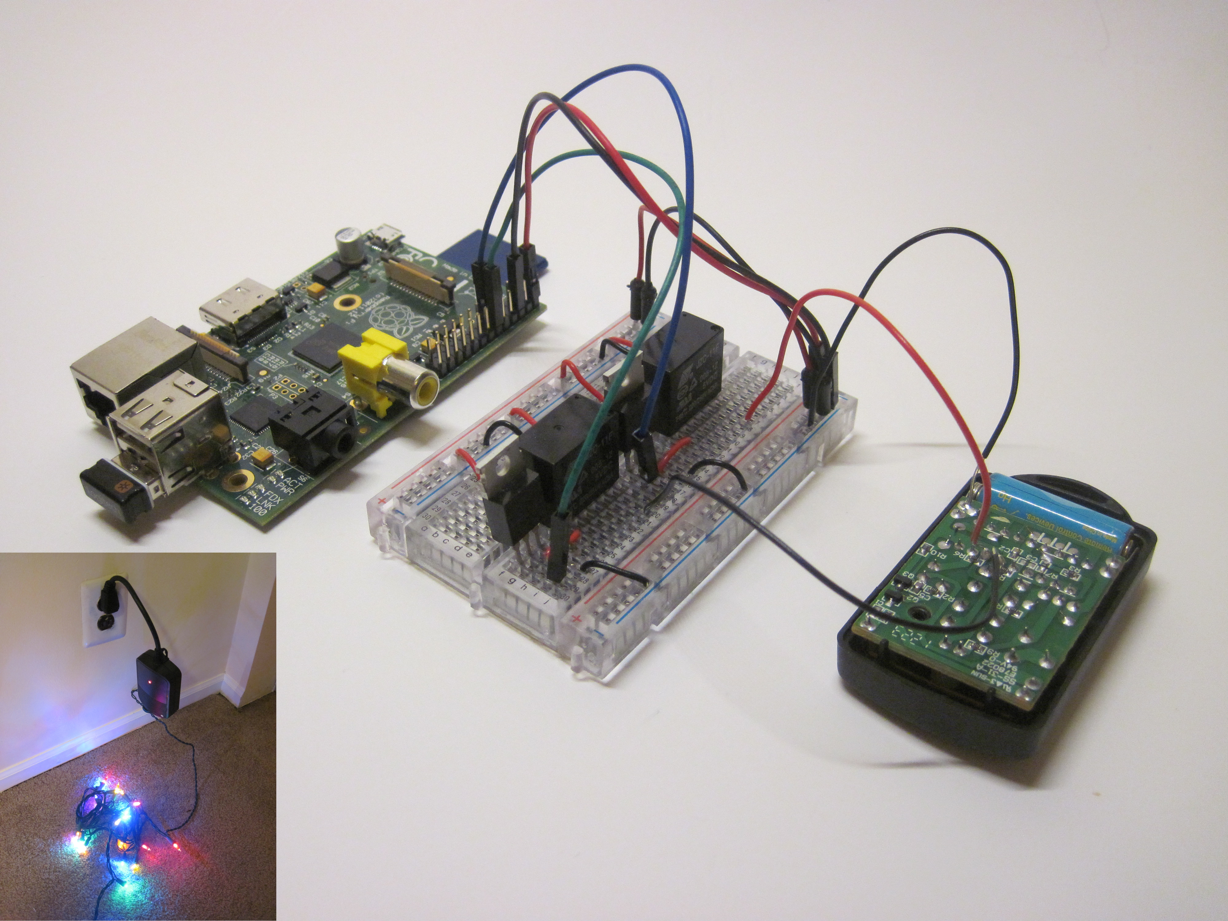 Wireless Christmas Light Timer with Raspberry Pi and Python