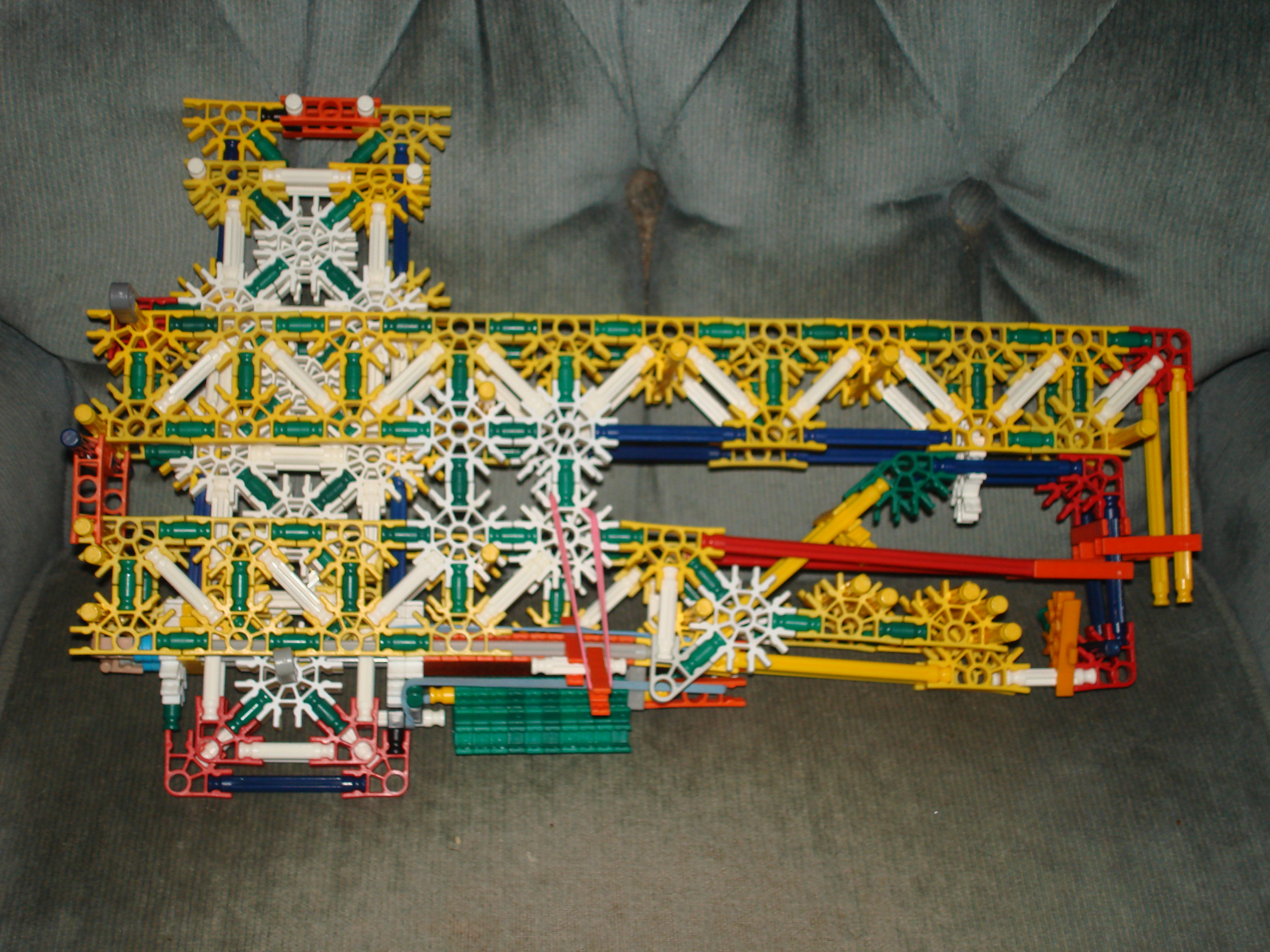 knex gun with magazine