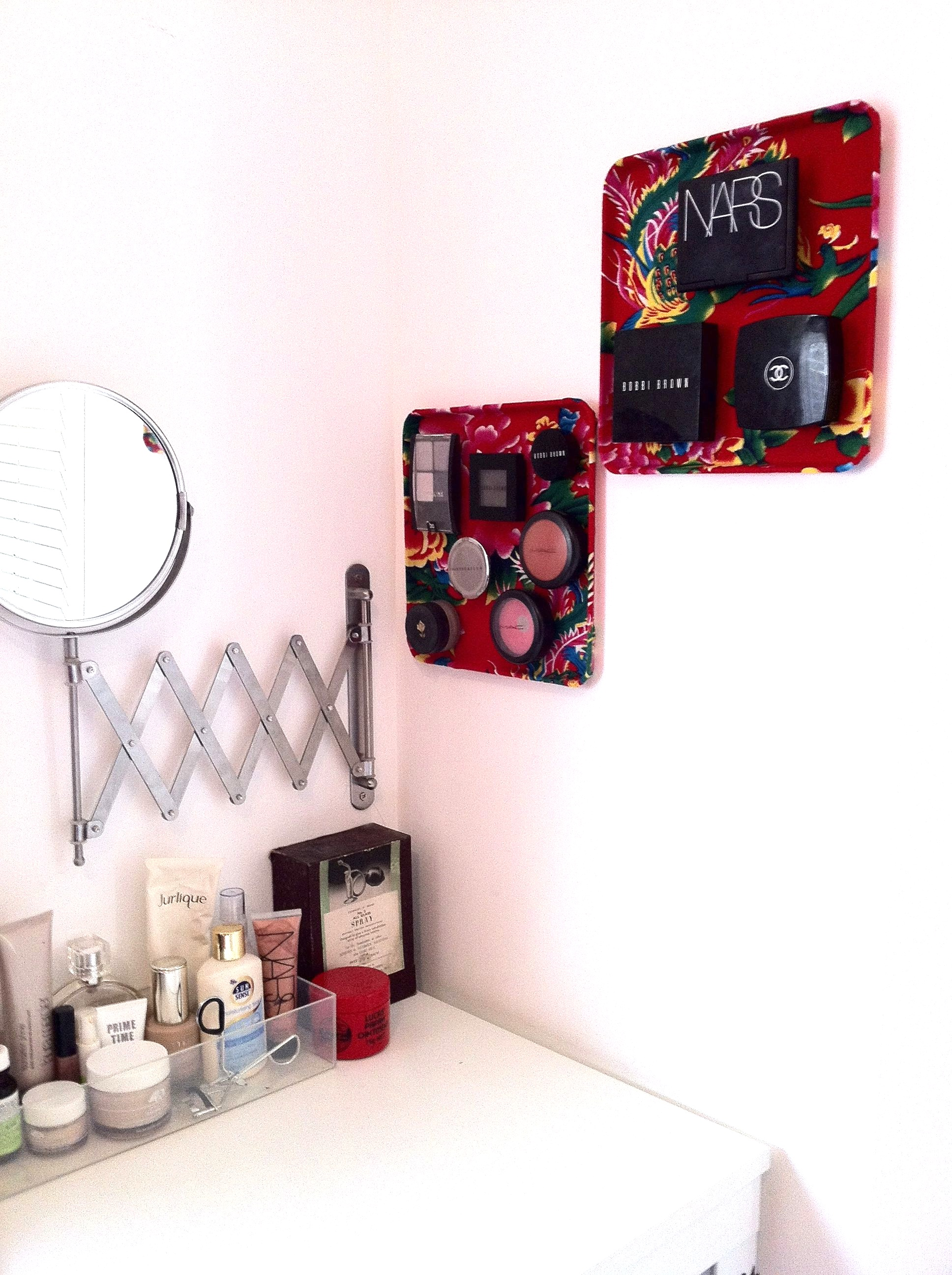 How to Make a Magnetic Cosmetics Board