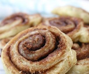 Cinnamon Sugar Pie Crust Cookies