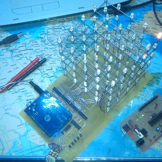 5x5 LED Cube (Arduino Uno)