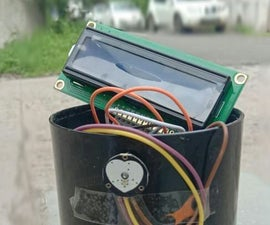 Mini Pocket Heart Rate Monitor
